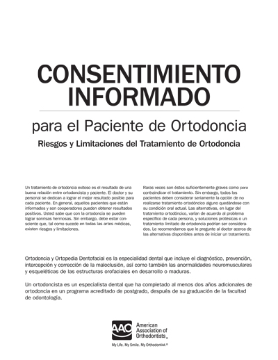 Online store merchandise search informed consent for the orthodontic patient spanish altavistaventures Gallery